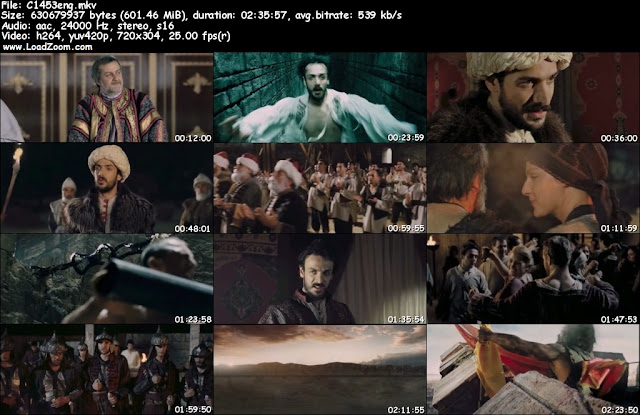 Conquest 1453 (2012) DVDScr English Hardsub 600MB Free Movies