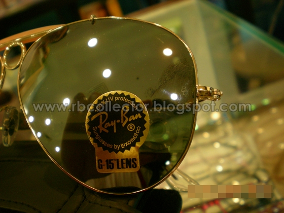 Rayban Made Usa Outdoorsman Tortuga Size Model Number