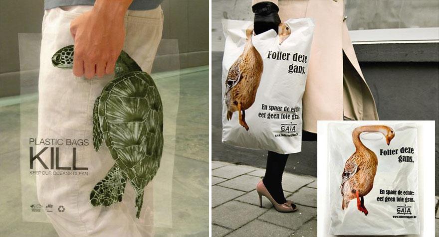 Plastic Bags Kill - Gaia