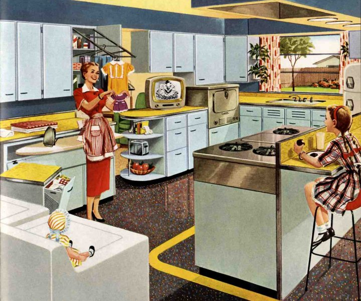 Incredible 1953 Kitchen 720 x 601 · 115 kB · jpeg