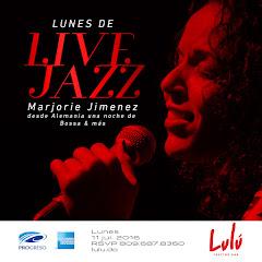 Lulú Live Sessions presenta, este Lunes 04 de Julio - 9:00PM: