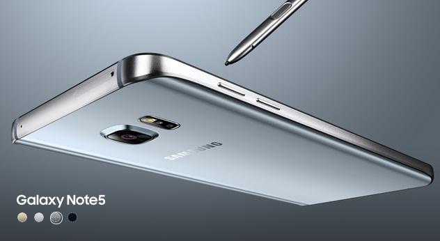 spesifikasi lengkap Samsung Galaxy Note 5