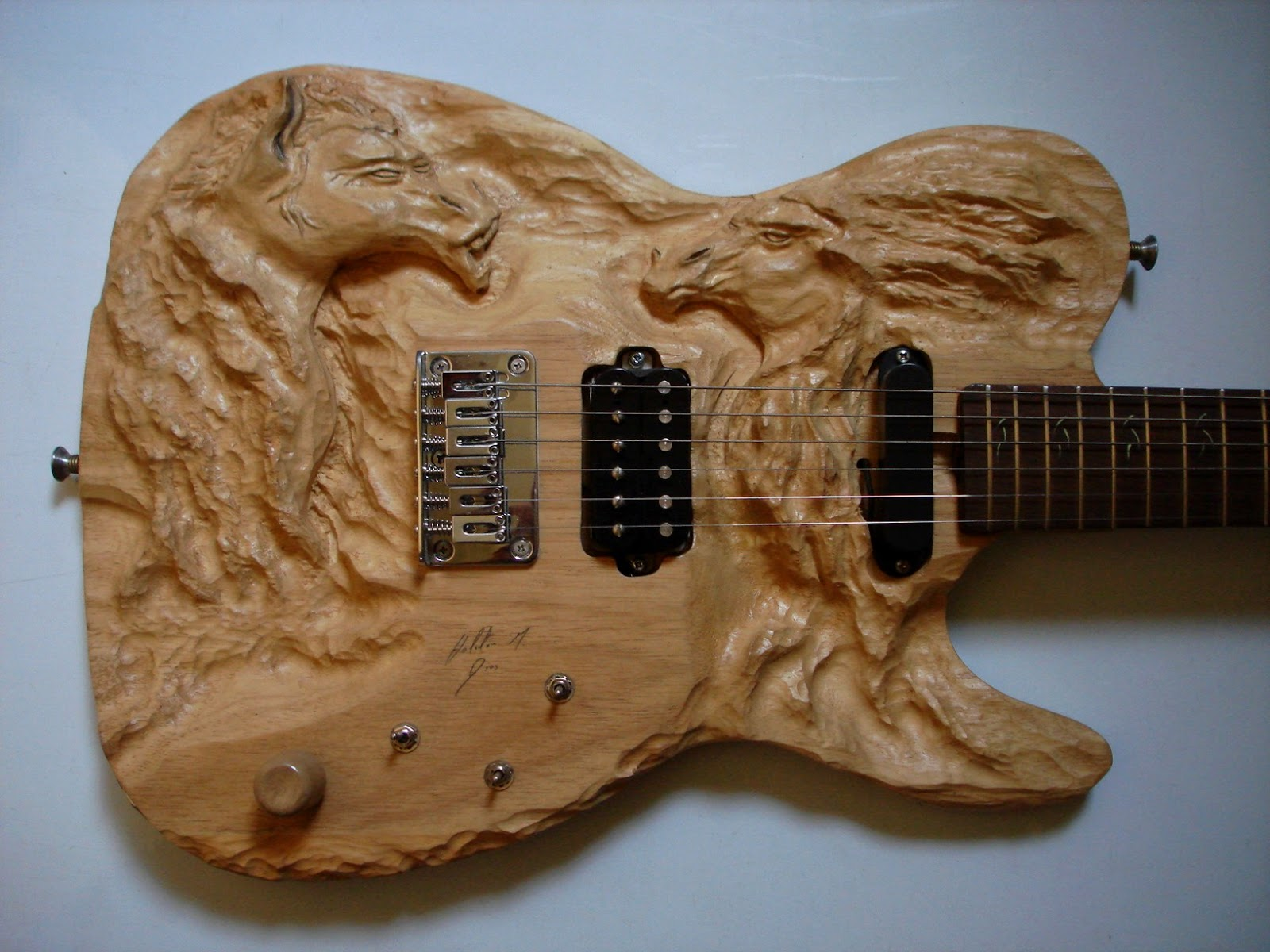 telecaster luthier