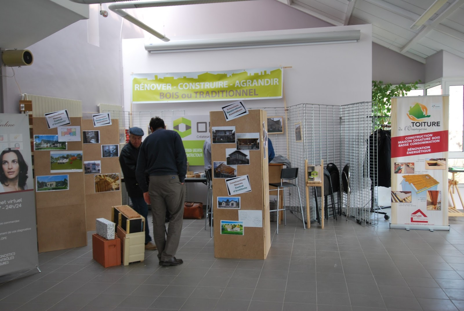 Eco habitat eco habitude for Salon construction bois