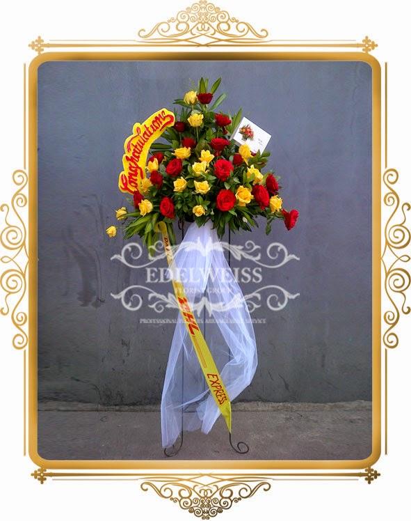 bunga ucapan selamat & sukses