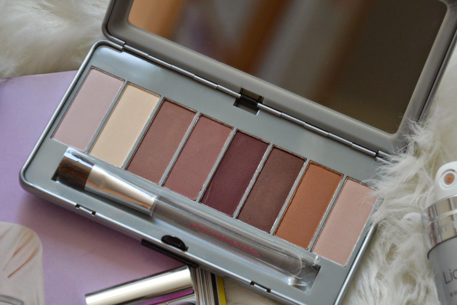 Pür Minerals palette eye shadow make up