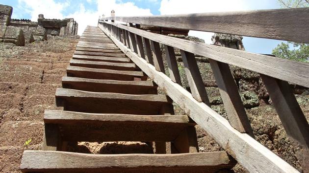 Temple de Phimeanakas. Photo: Hang Seak