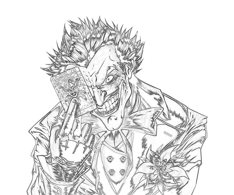 Free Coloring Pages Of The Joker The Joker Coloring Pages