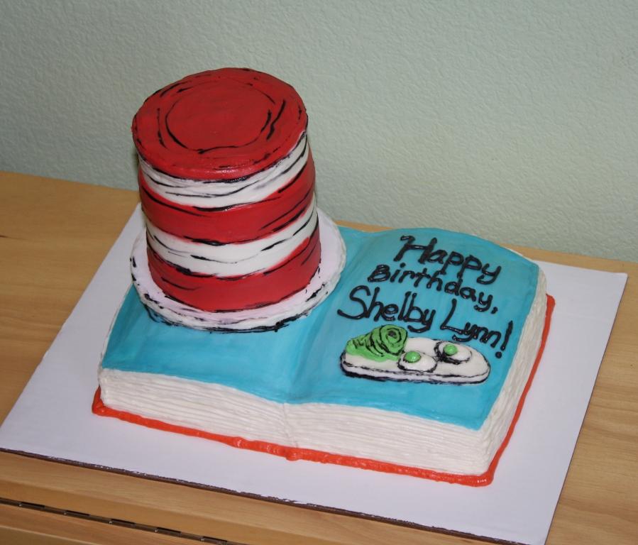 Party Cakes Dr Seuss Birthday Cake