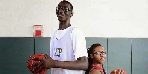 Meet 7-Foot-5 Tacko 'Taco' Fall; the tallest prep basketball player in the United States