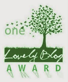 "Nominado 2 veces al premio  ""One lovely blog award"""