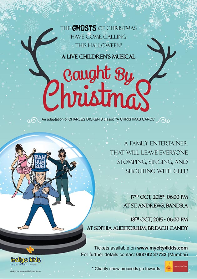 Children's Theatre: 'Caught by Christmas' in Mumbai on October 17 and 18, 2015