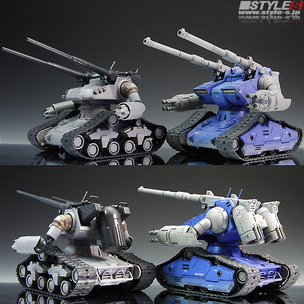 Model Kit Guntank The Origin Style
