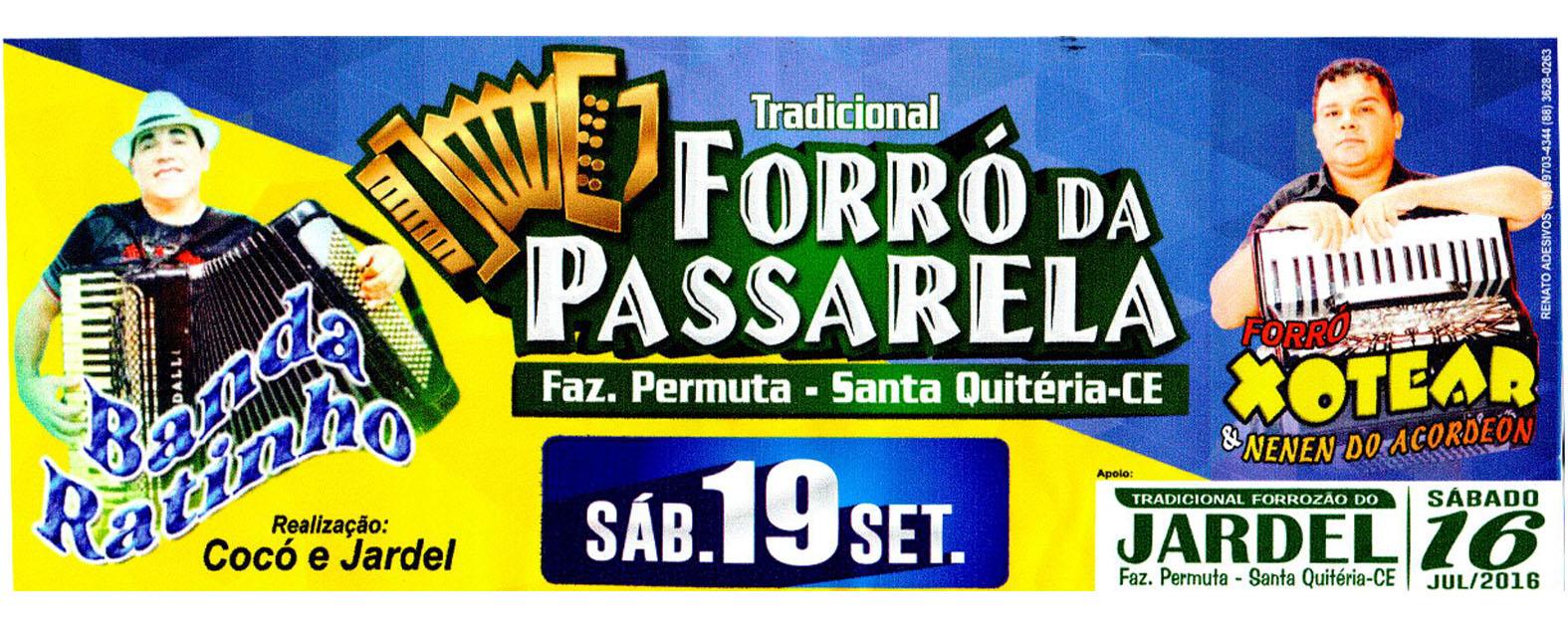 TRADICIONAL FORRÓZÃO DA PASSARELA