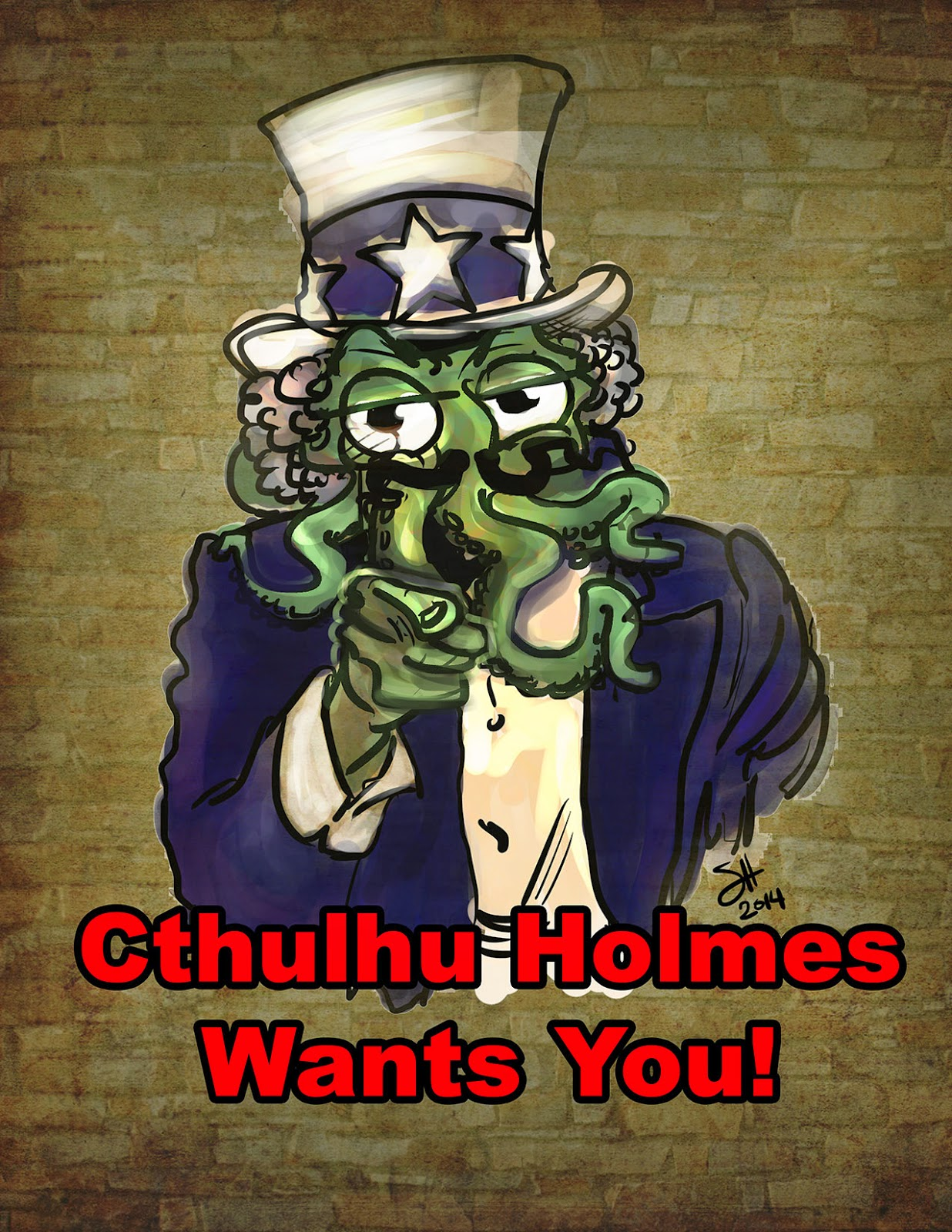 http://fundanything.com/en/campaigns/the-canny-cthulhu-holmes-vol-1