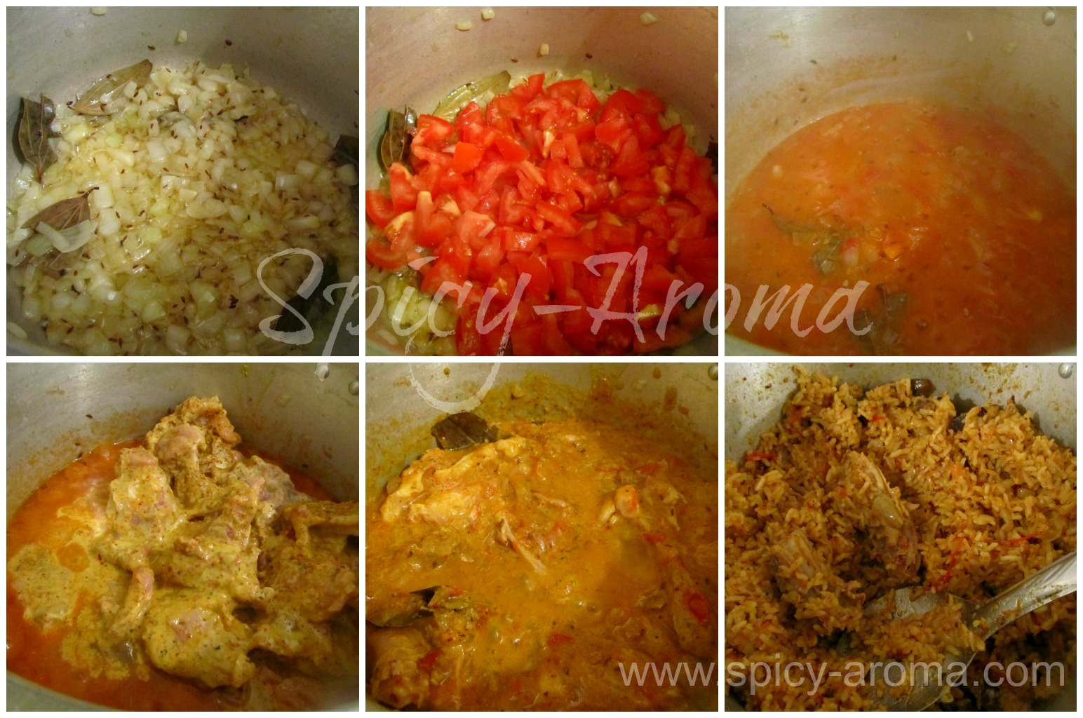 Spicy chicken biryani pressure cooker method recipe for Chicken biryani at home