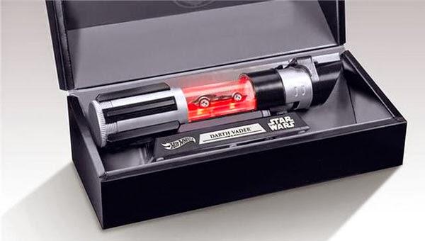 Caja presentación Vehículo Darth Vader Hot Wheels