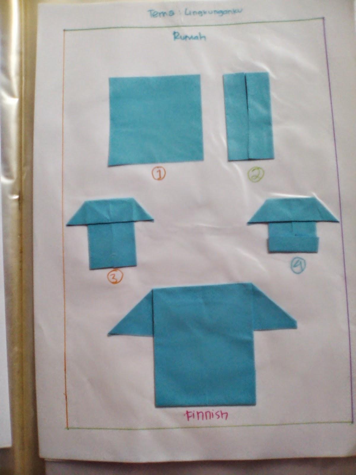 Rahmi Syah Putri: Cara-Cara Melipat Origami Sesuai dengan