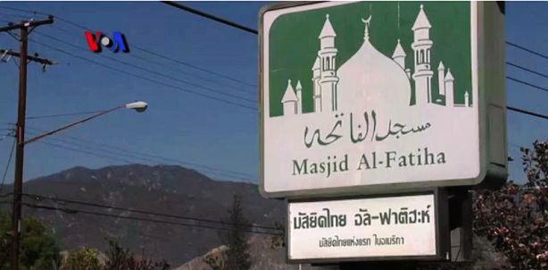 Muslim Thailand Bangun Masjid Al-Fatiha di California