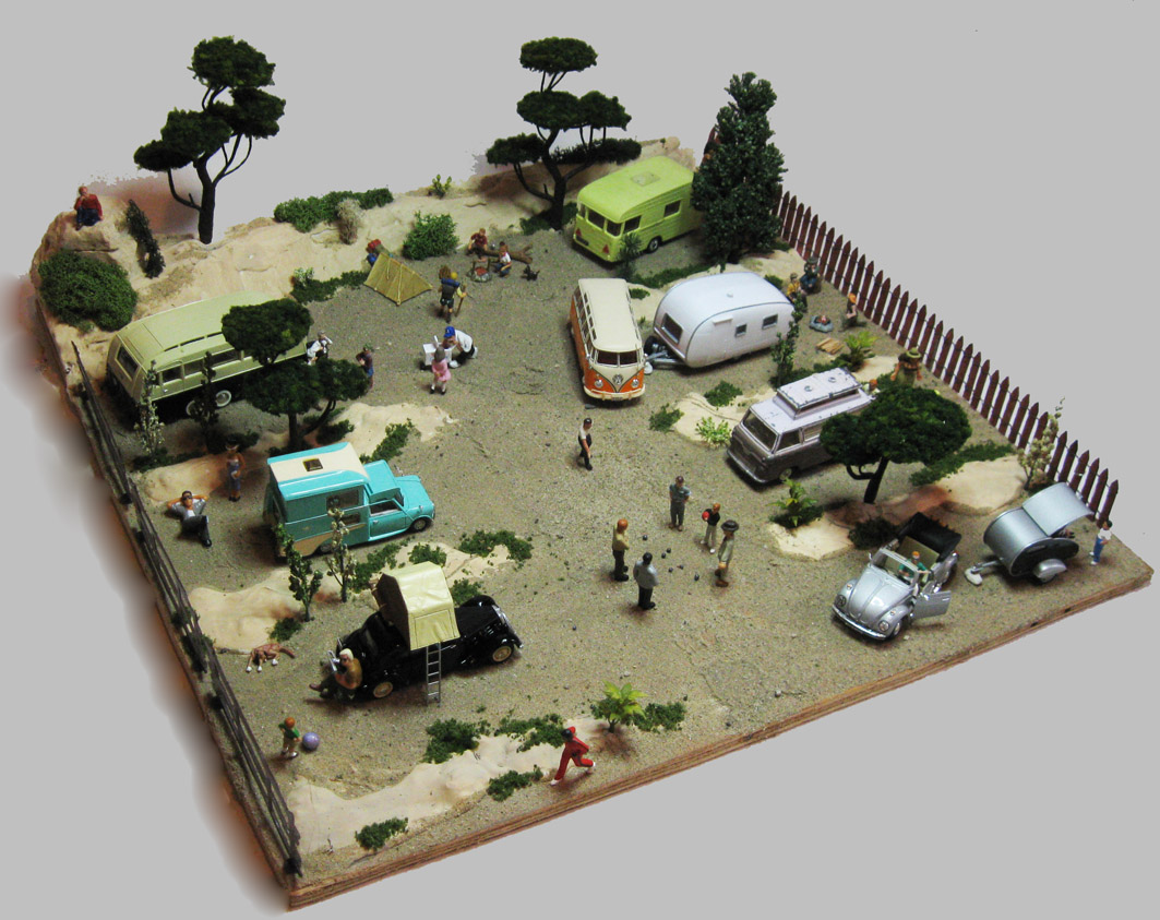 Collection 43 diorama camp de camping annees 50 60 for Housse tyvek camping car