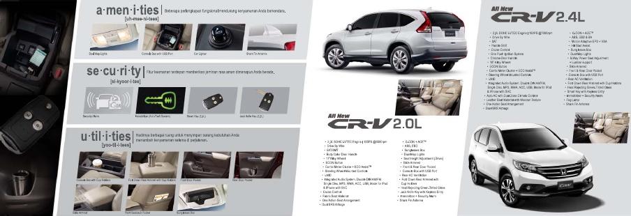 HONDA ALL NEW CRV - OVERVIEW
