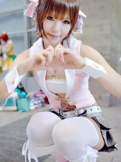 The Idolmaster Amami Haruka Cosplay by Kipi