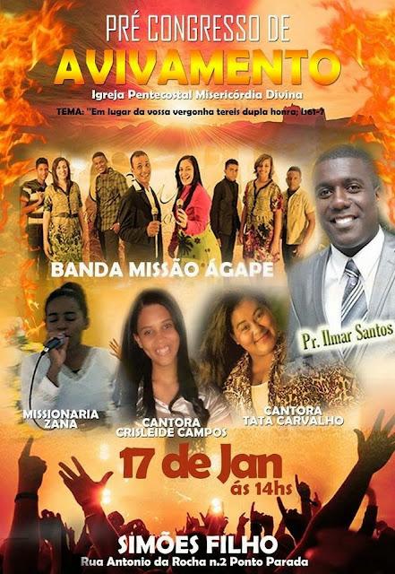 Pré-Congresso de Avivamento em Simões Filho-BA