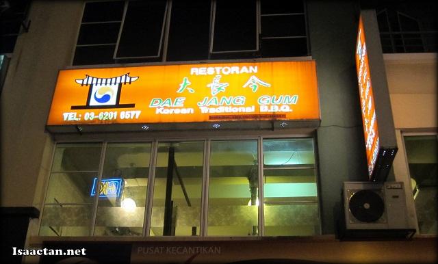 Dae Jang Kem Korean Restaurant Sri Hartamas