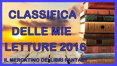 BILANCIO ANNUALE DELLE LETTURE 2016