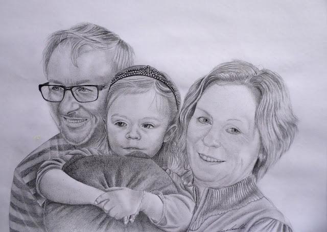 Portrait d'Antoine Delesalle, portrait de famille