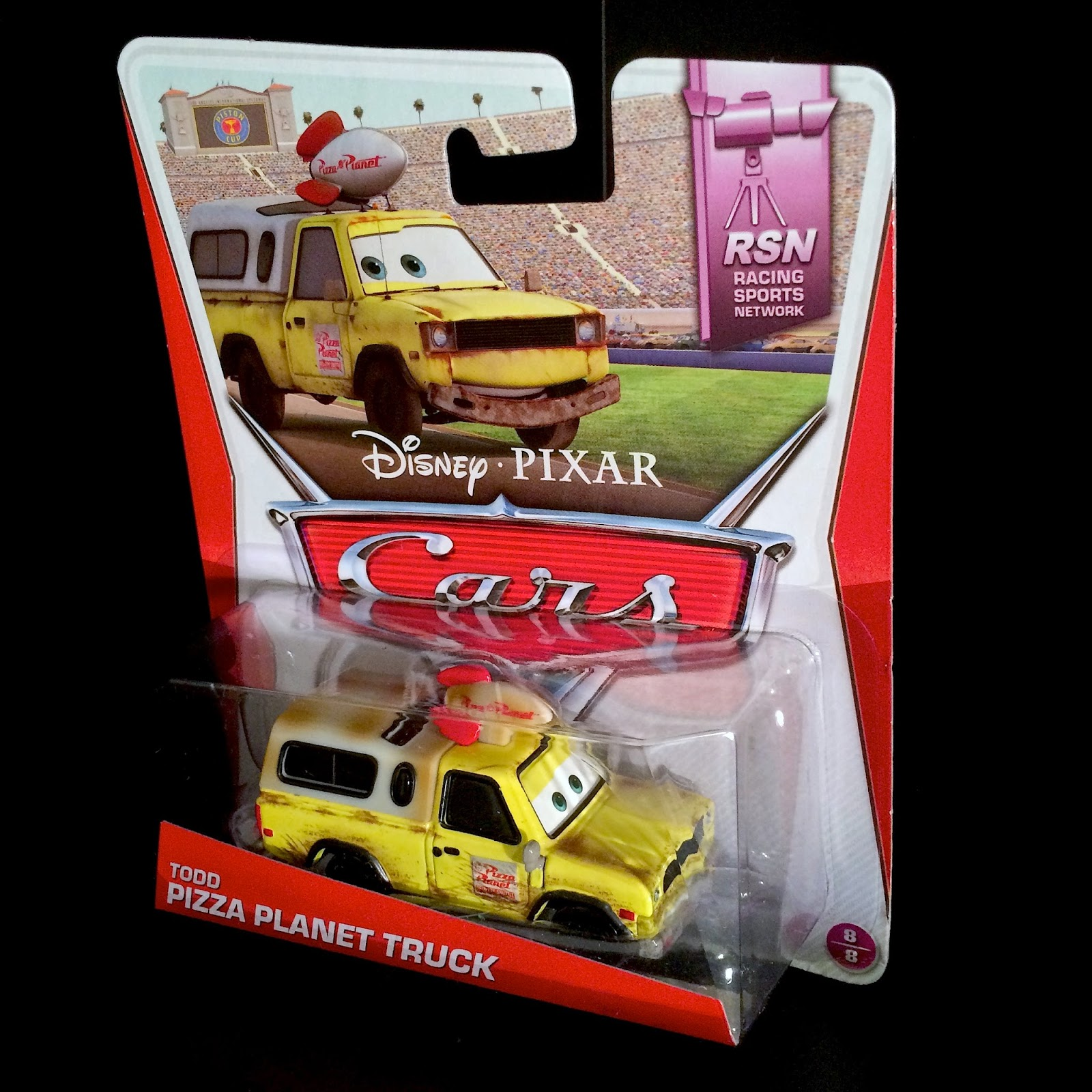 Cars todd pizza planet truck