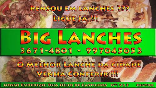 CAMAQUÃ - PENSOU EM LANCHES LIGUE JÁ PARA O BIG LANCHES!