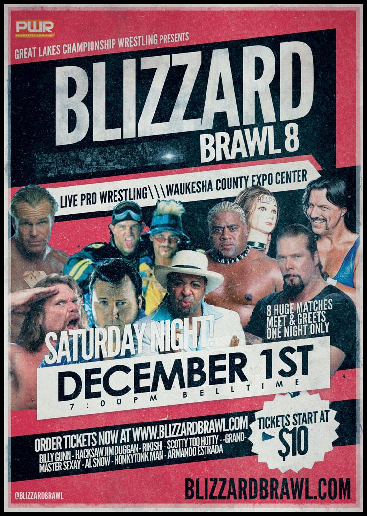 Great Lakes Championship Wrestling Blizzard Brawl Saturday