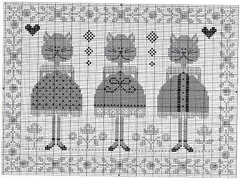 Tralala схемы вышивки 39