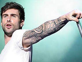 Adam levine and full tattoos on his body hollywood and for Adam levines tattoos