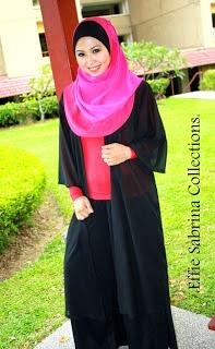 Kebaya Kimono Muslim Berhijab