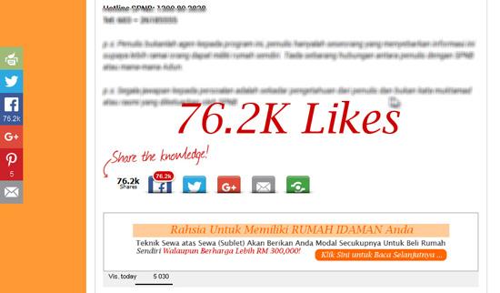 10 Tips Memancing Pengguna FB Untuk Viralkan Post