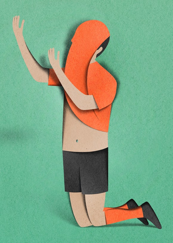 """Eiko Ojala is an illustrator, graphic designer and art director living in Tallinn, Estonia. His graphic design illustrations are particularly aimed towards books and magazines. Eiko has been nominated to """"Young Illustrators Award"""" and has been featured on It's Nice That, iGnant, Trendland, Fubiz and Etapes."""