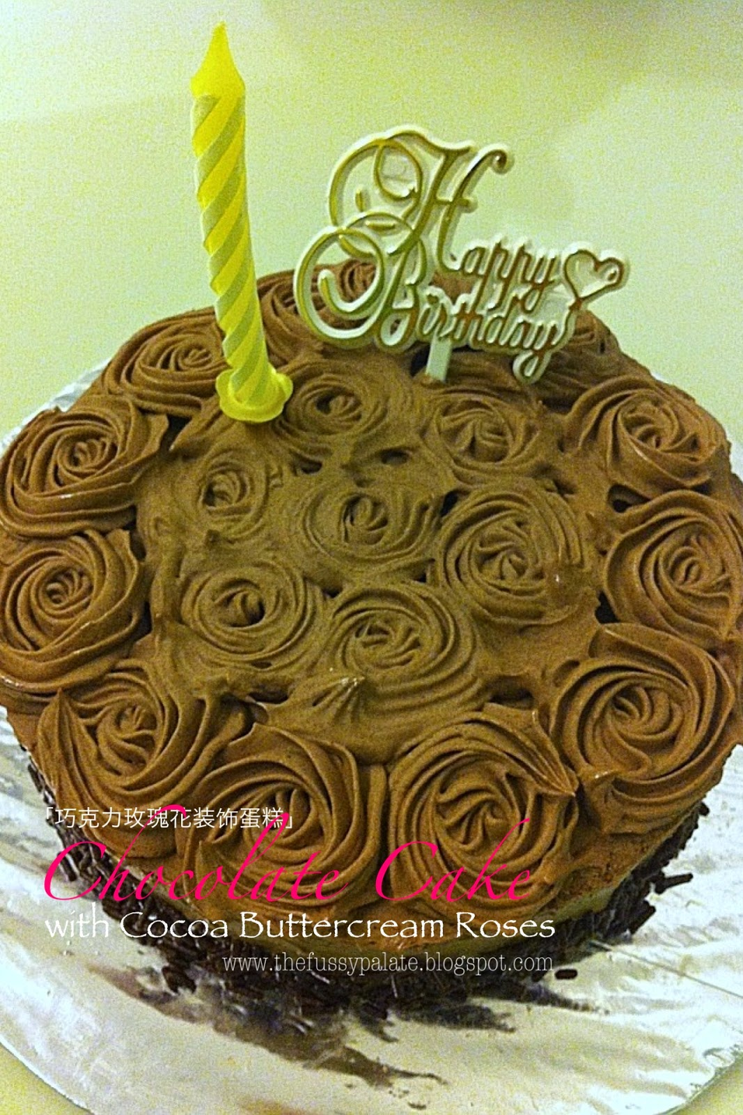 how to make chocolate cake with cocoa powder