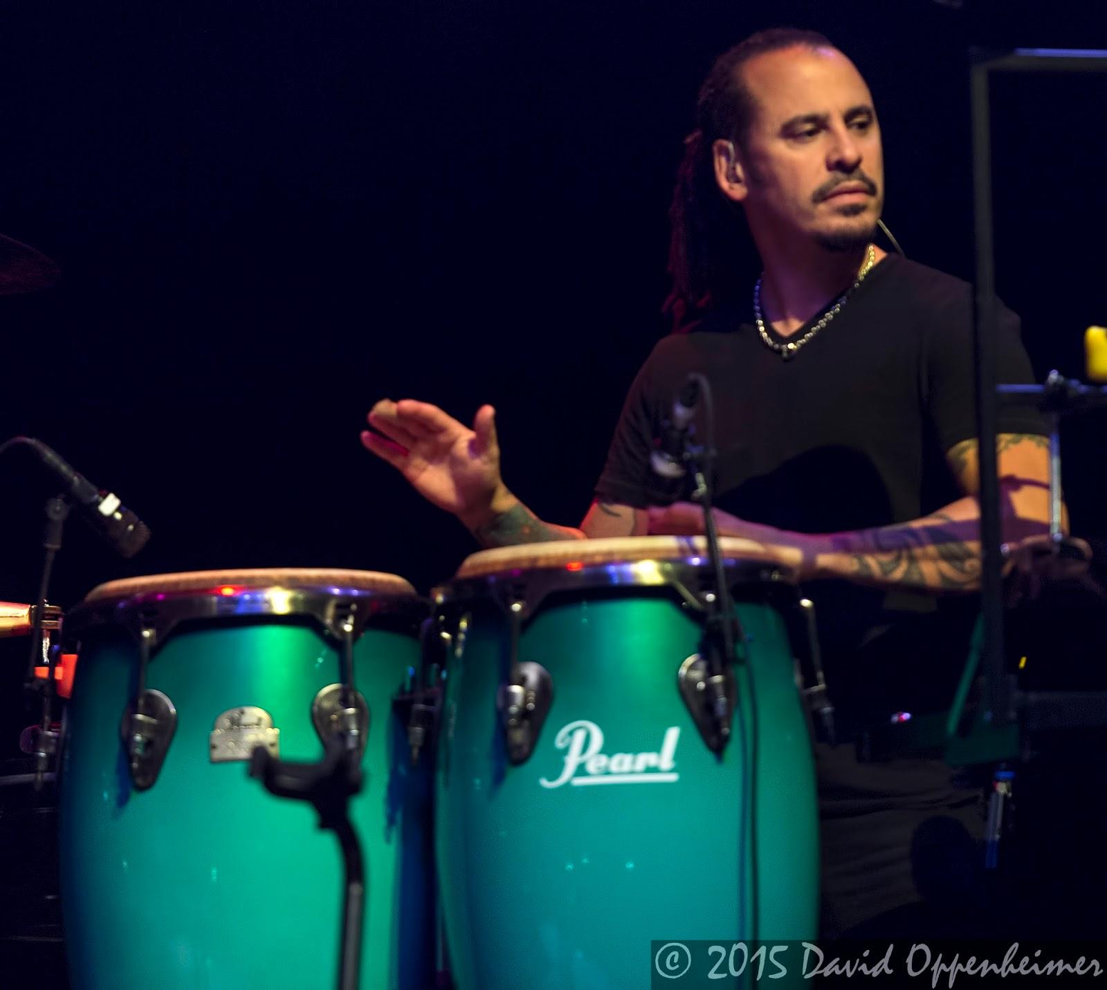 Mark Quinones performing with Gregg Allman