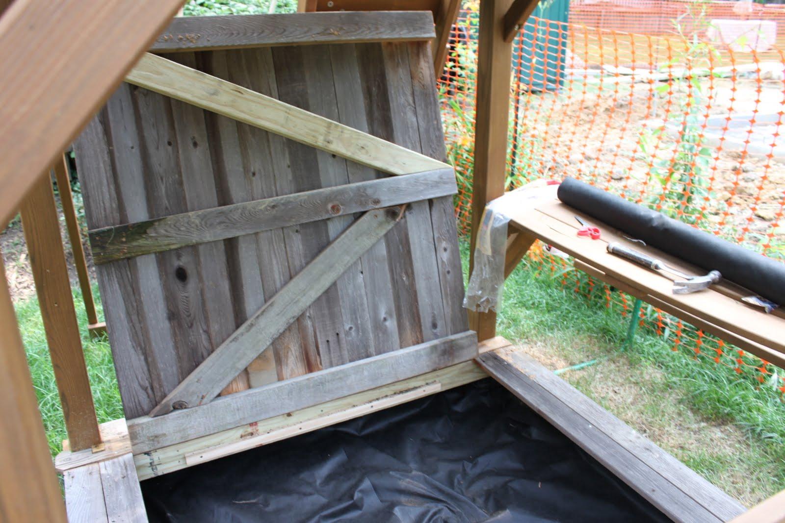 houseography diy sandbox fort customizing a backyard playset