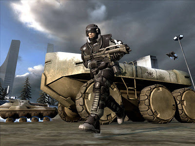 Battlefield 2142 gameplay