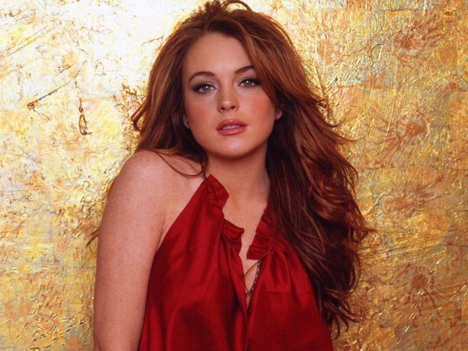 Top Wallpapers Young Lindsay Lohan Redhead Hd Wallpaper