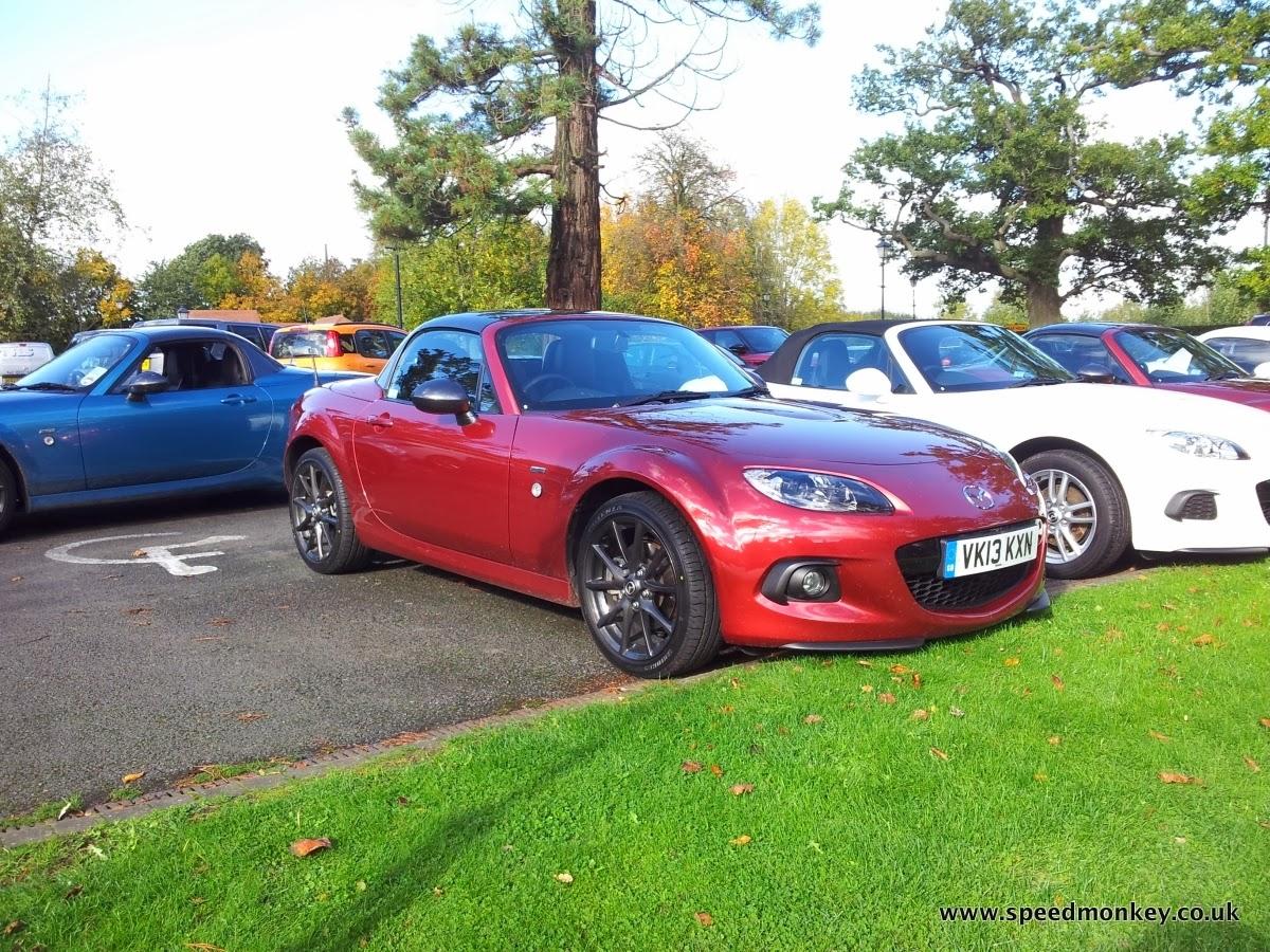 Speedmonkey: 2013 Mazda MX5 2.0i Graphite Review