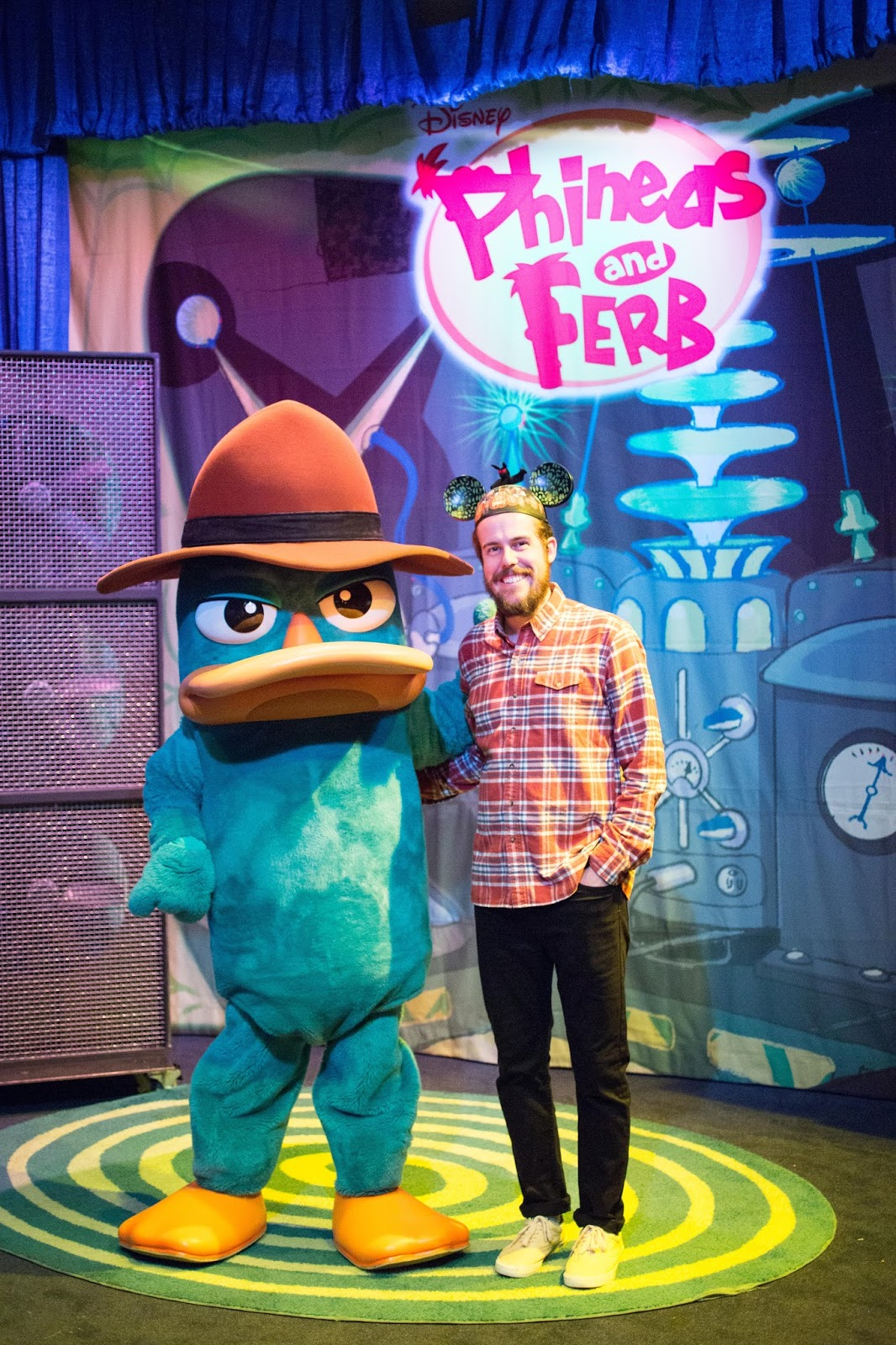 Agent P Meet and Great at Disneyland
