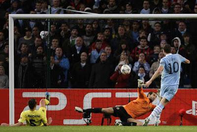 Manchester City 2 - 1 Villarreal (3)