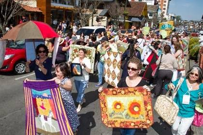 Festival do Quilt e Patchwork em Gramado