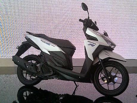 Foto Tampilan Motor Honda Vario 150cc Terbaru 2015