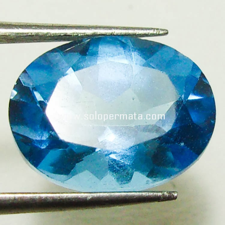Batu Permata Blue Topaz - 15A10
