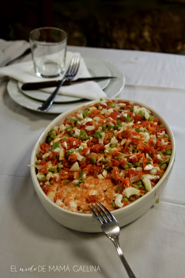 shellfish salad